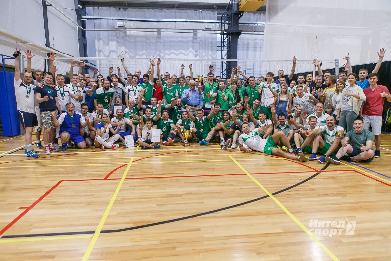 Юбилейный турнир по волейболу ГК МегаФон