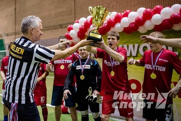 Турнир по футболу для компании «ROCKWOOL»