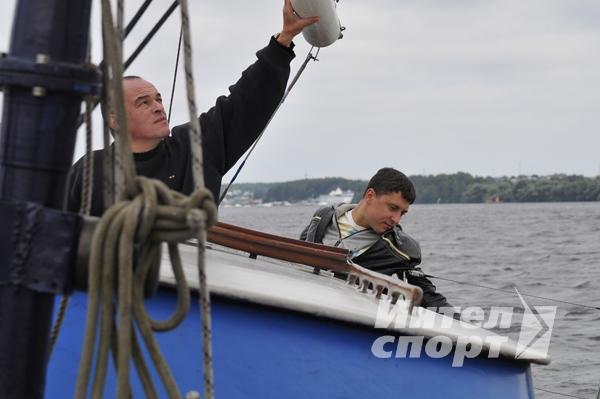 "Парусная регата  для сотрудников компании ""Peugeot Citroen"""