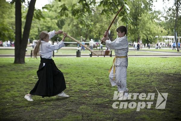 """PROСпорт Парк"" в Парке Горького-2012 г."