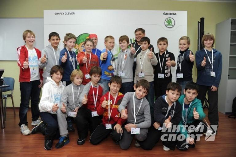 Детский хоккейный турнир под эгидой компании Skoda