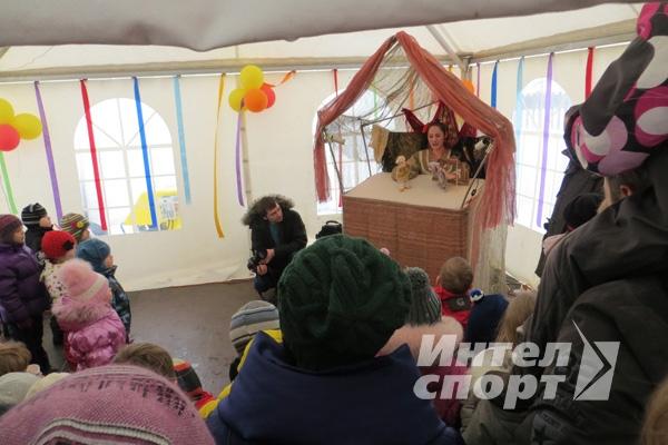 """Масленица в посёлке """"Пестово"""""""
