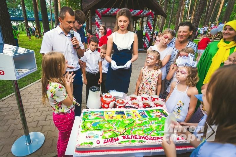 День Железнодорожника в Новосибирске
