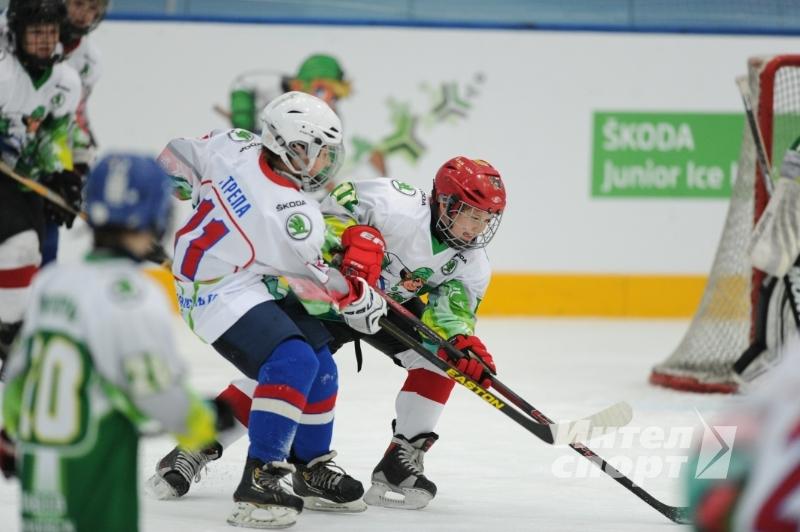 Финальный этап всероссийского хоккейного турнира Skoda Junior Ice Hockey Cup 2013 г.