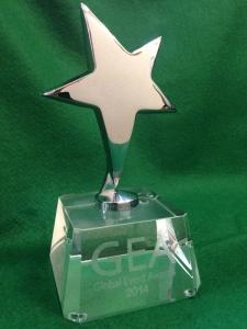 """Global Event Awards наградила наше агентство за первое место в номинации """"Лучшее спортивное мероприятие"""""""