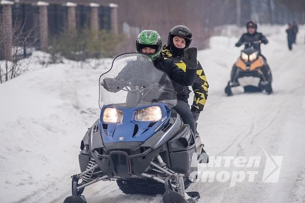 Зимний квест на снегоходах и квадроциклах для МАСТ