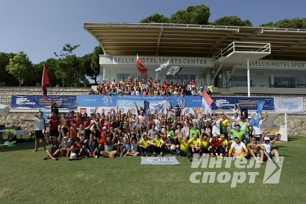 12-й фестиваль футбола и отдыха «Спортивная волна 2018» в Турции