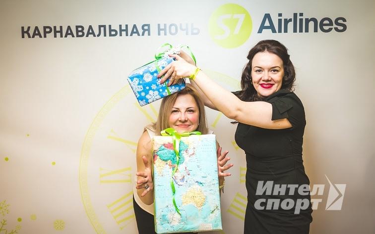 Новый год для филиалов авиакомпании S7