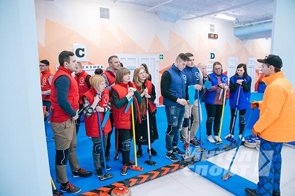 Зимние забавы на льду АО «ВНИИ НП»
